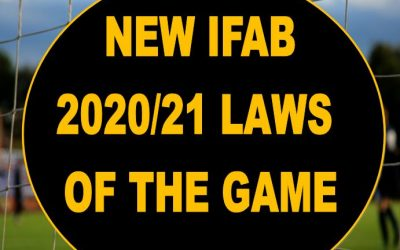 IFAB Law Changes of the Season 2020/21 Explained by Keith Hackett