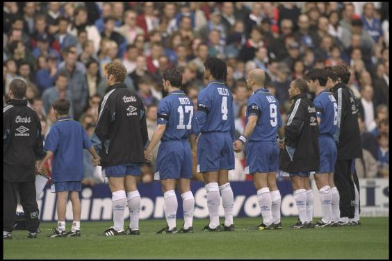 Chelsea v Tottenham, 1996. A special London Derby